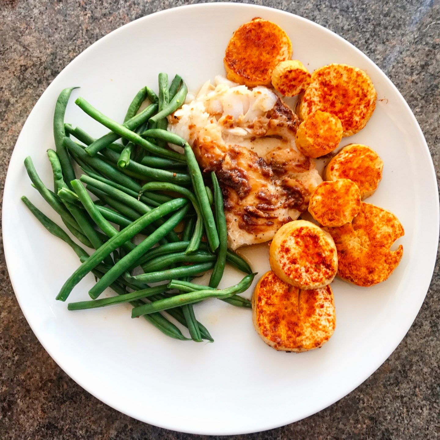Butter Miso Baked Cod With Paprika Parsnips Amp Green Beans